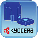 Kyocera Cutting Tools app til iPhone, iPad og Android